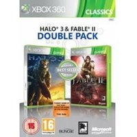 Halo 3 and Fable II 2 Double Pack (Classics)