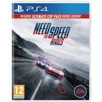 Need for Speed Rivals Limited Edition (Ultimate Cop Pack DLC) Game PS4