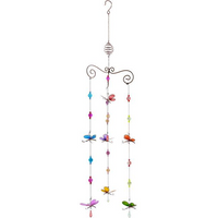 Triple Butterfly Windchime