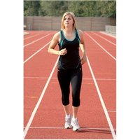 Precision 3/4 Length Capri Tights Black 34-36 inch