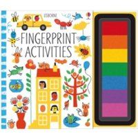 Fingerprint Activities by Fiona Watt (Spiral bound, 2015)