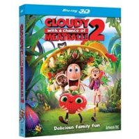 Cloudy With A Chance of Meatballs 2 3D Blu-ray & UV Copy