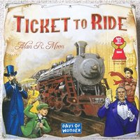 Ex-Display Ticket to Ride Board Game Used - Like New