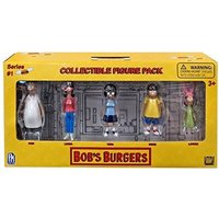 Bob's Burgers Series 1 Collectible Figure Pack (5 Figures)