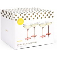 Thumbs Up Vintage Champagne Saucers