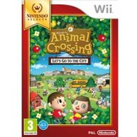 Animal Crossing Lets Go To The City Game (Selects)