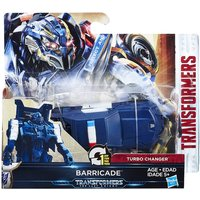 Transformers The Last Knight 1-Step Turbo Changer Cyberfire Barricade