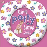 Girls' Potty Time by DK (Board book, 2010)