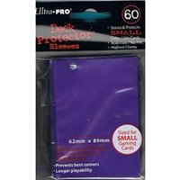 Ultra Pro Small Purple 60 Pack Deck Protectors - 10 Packs