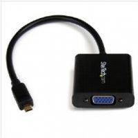 StarTech Micro HDMI to VGA Adapter Converter for Smartphones Ultrabook Tablet - 1920x1200