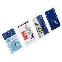 Hama Hot Laminating Film for Business Cards, 125µ, 100 pieces