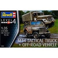 M34 Tactical Truck + Off-Road Vehicle 1:35 Revell Model Kit