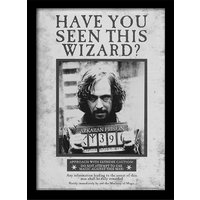 Harry Potter - Sirius Wanted Framed 30 x 40cm Print