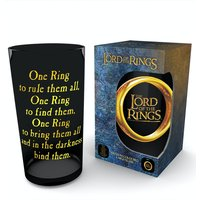 Lord of the Rings One Ring Coloured Glass Premium Large Glass