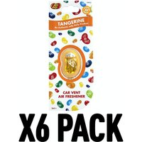 Tangerine (Pack Of 6) Jelly Belly Vent Clips