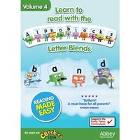 Learn to Read With the Alphablocks Vol 4 (Letter Blends) DVD