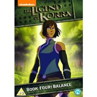 Legend of Korra - Book Four: Balance DVD