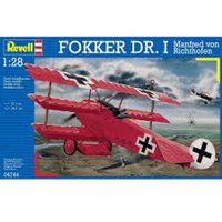 Fokker Dr.I Richthofen 1:28 Revell Model Kit