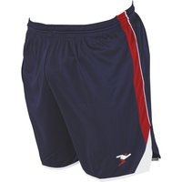 Precision Roma Shorts 34-36 Inch Adult Navy/Red/White