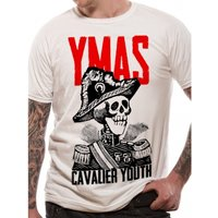 You Me At Six - Cavalier Youth Men's Large T-Shirt - White
