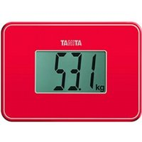 Tanita HD-386 Super Compact Multi Purpose Digital Weighing Scale Red