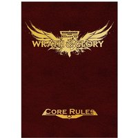 Warhammer 40000 Roleplay: Wrath & Glory Core Rulebook Limited Edition Red Hardcover