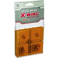 Star Wars X-wing Bases and Pegs Accessory Pack - Orange Board Game