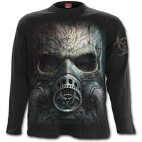 Bio-Skull Men's XX-Large Long Sleeve T-Shirt - Black