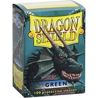 Dragon Shield Classic - Green 100 Sleeves (10 Packs)