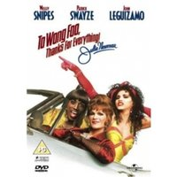 To Wong Foo, Thanks For Everything DVD