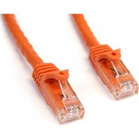 StarTech Cat6 3ft Patch Cable with Snagless RJ45 Connectors (Orange)