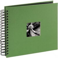 Hama Fine Art Spiralbound Album 28 x 24cm 50 black pages Apple-green