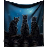 Wish Upon A Star Cat Throw
