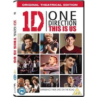 One Direction This Is Us DVD + UV Copy