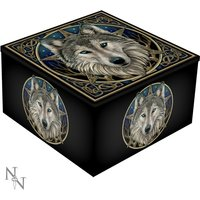 Wild One Wolf Mirror Box