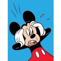 Mickey Mouse - Shocked Canvas