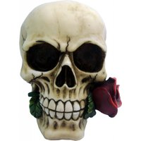 Gothic Skull Rose from the Dead