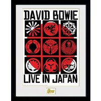David Bowie Live In Japan Collector Print