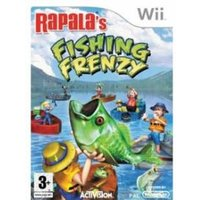 Rapala Fishing Frenzy Game Includes Rod