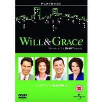 Will And Grace: Series 3 Box Set DVD