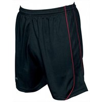 Precision Mestalla Shorts 42-44 Black/Red
