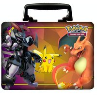 Pokemon TCG Collector's Chest Tin 2019 Armored Mewtwo, Pikachu & Charizard