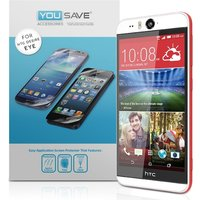 YouSave Accessories HTC Desire Eye Screen Protectors X 3 - Clear