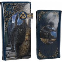 A Brush With Magick Embossed Purse