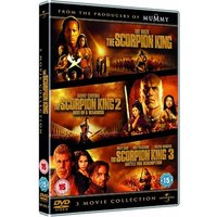 The Scorpion King 1-3 Triple Pack DVD
