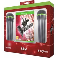 The Voice Includes 2 Microphones Xbox One Game