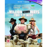 Million Ways To Die In The West Blu-ray