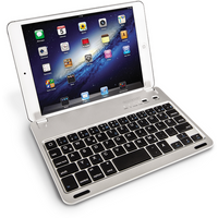 Caseflex iPad Mini German Keyboard - Silver/Black