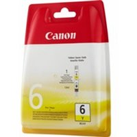 Canon 4708A002 (BCI-6 Y) Ink cartridge yellow, 210 pages @ 5% coverage, 13ml