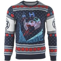 Star Wars - Tie Fighter Battle of Yavin Unisex Christmas Jumper X-Small
